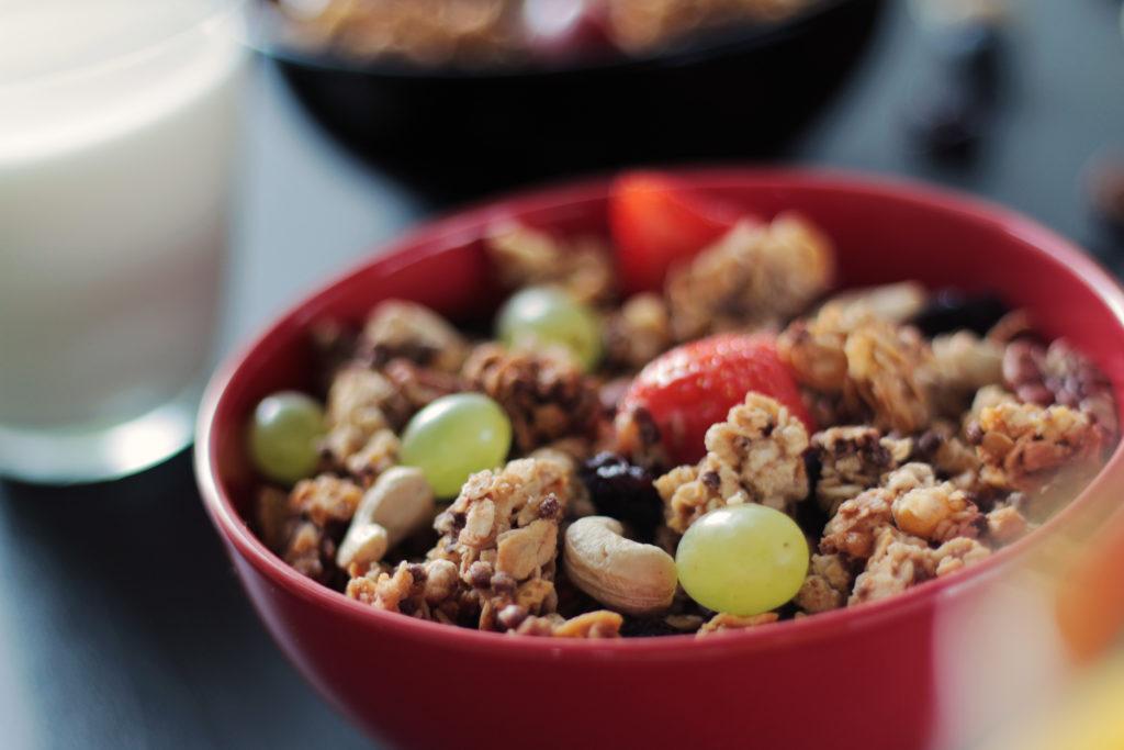 Gesundes Frühstück, gesund ernähren, gesunde Zutaten, gesund frühstücken Rezepte, schnelles und gesundes Frühstück, Müsli