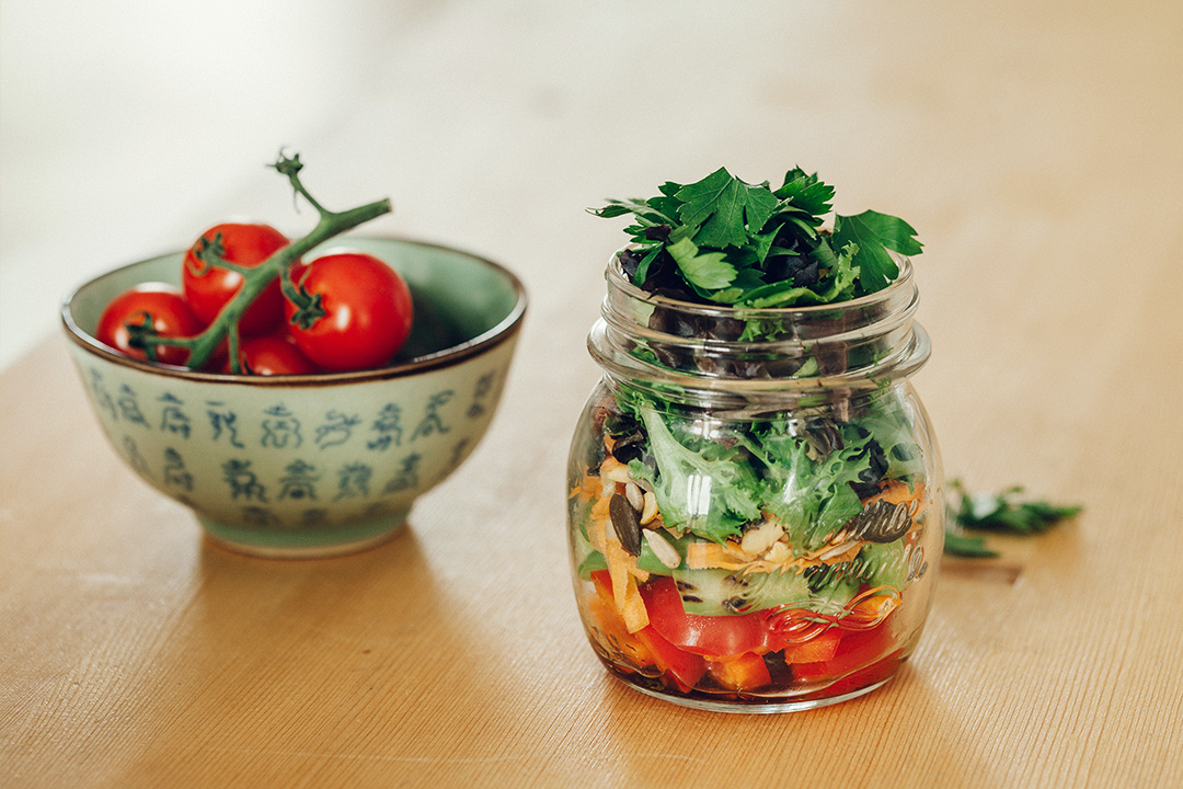 Gesundes Frühstück, gesund frühstücken, Frühstück Rezepte, Salat, Salat Rezept, Grüner Salat, Salat zum Grillen