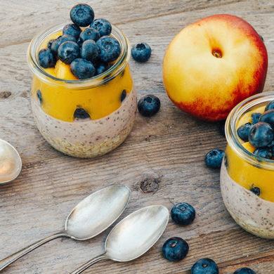 overnight oats chia, overnight oats, overnight oats abnehmen, overnight oast mit joghurt, overnight oats rezept, overnight oats rezepte