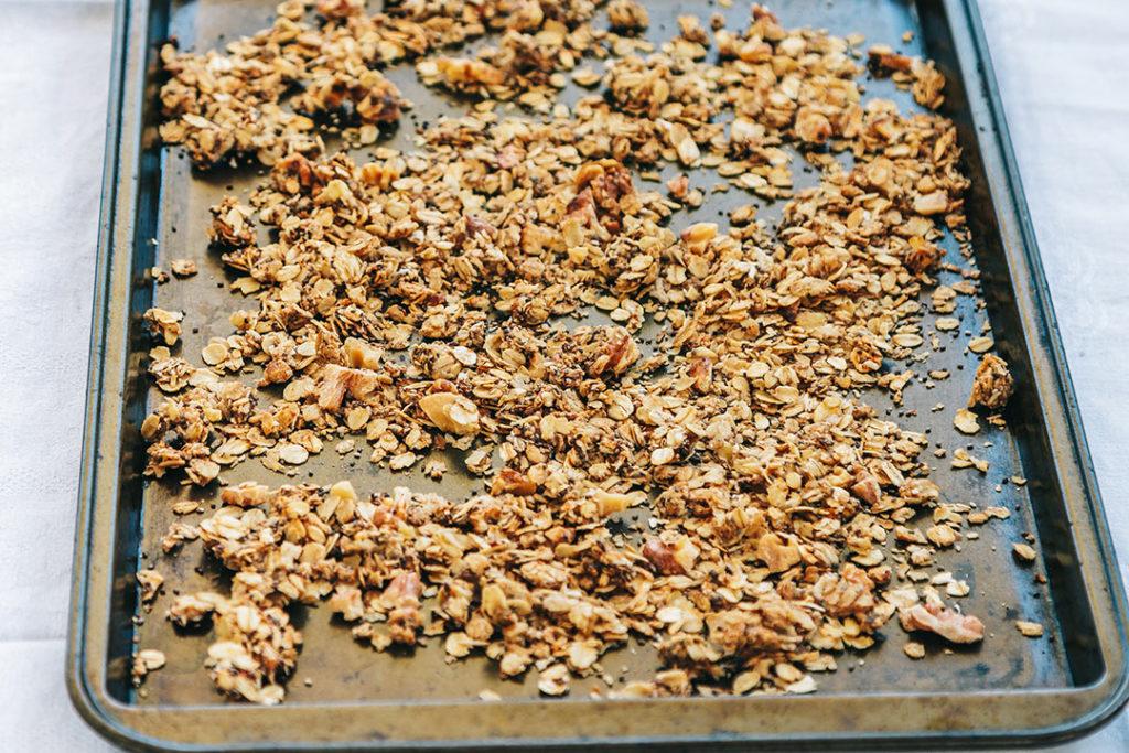 granola rezept, granola müsli, granola selber machen, knuspermüsli, knuspermüsli selber machen
