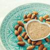 Mandelmus selber machen, Mandelmus gesund, gesundes Frühstück, gesund frühstücken, Mandelbutter, Mandelmus Rezept, zuckerfrei