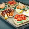 tostadas rezept, Tostadas avocado, Tostadas selber machen, Tostadas rezepte, schnelle rezepte frühstück, gesund frühstücken, gesundes frühstück rezept
