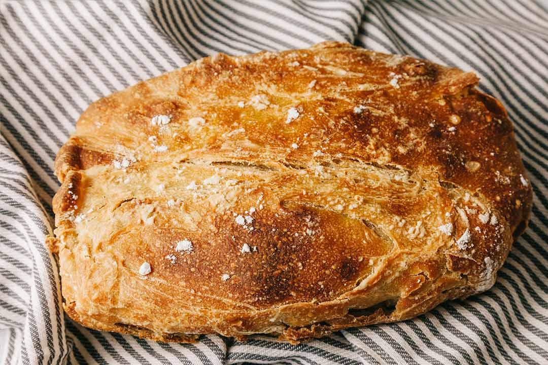 Brot Backen Dieses Kein Kneten Notwendig Brotrezept Gelingt