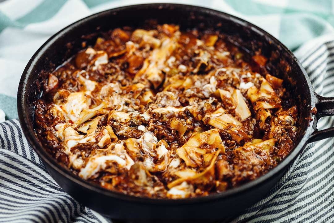 Geniales rezept lasagne bolognese mal anders schnell for Gute schnelle gerichte