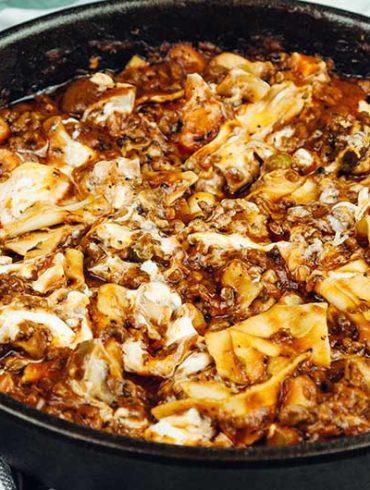 one pot pasta, one pot pasta tomate, lasagne bolognese, lasagne rezept einfach, lasagne mit hackfleisch, one pot rezepte, one pot pasta, one pot pasta rezepte