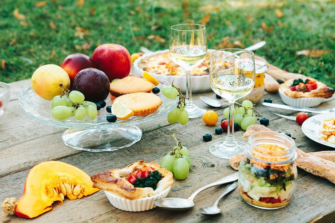 Picknick: 8 Rezepte zum picknicken bevor der Sommer geht