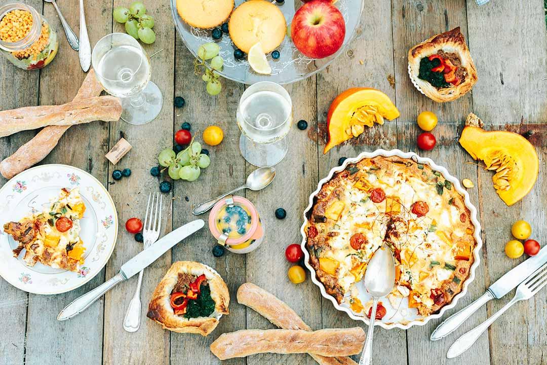 8 Picknick Rezepte: Bevor der Sommer geht und der Herbst beginnt ...