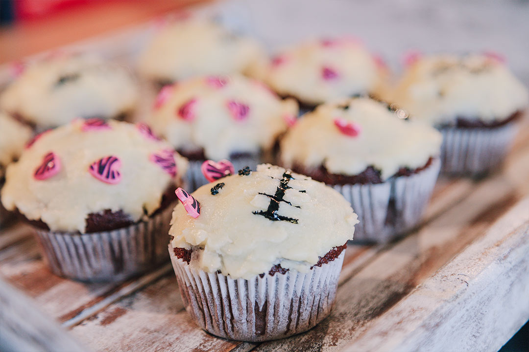 halloween rezept im oktober fr hst cks muffins mit k rbis. Black Bedroom Furniture Sets. Home Design Ideas