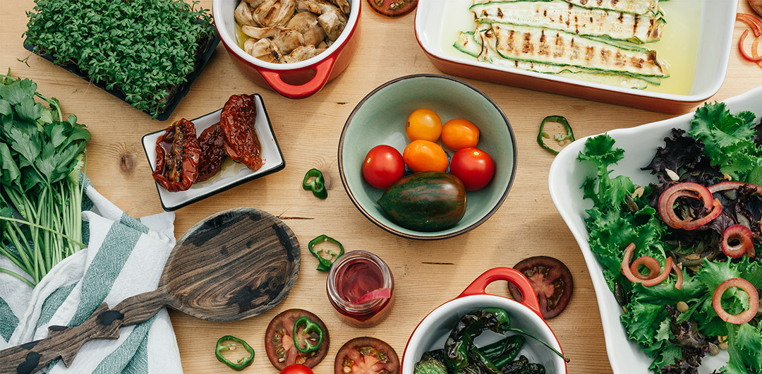 der perfekte salat zum fr hst ck rezepte tipps und. Black Bedroom Furniture Sets. Home Design Ideas