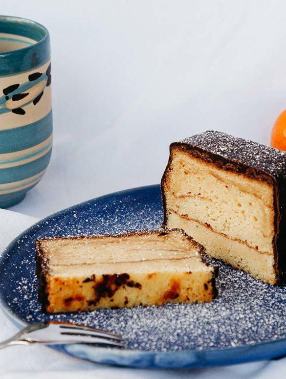 Baumkuchen Rezept, baumkuchen backen, baumkuchen selber machen, baumkuchen selber backen, grundrezept baumkuchen
