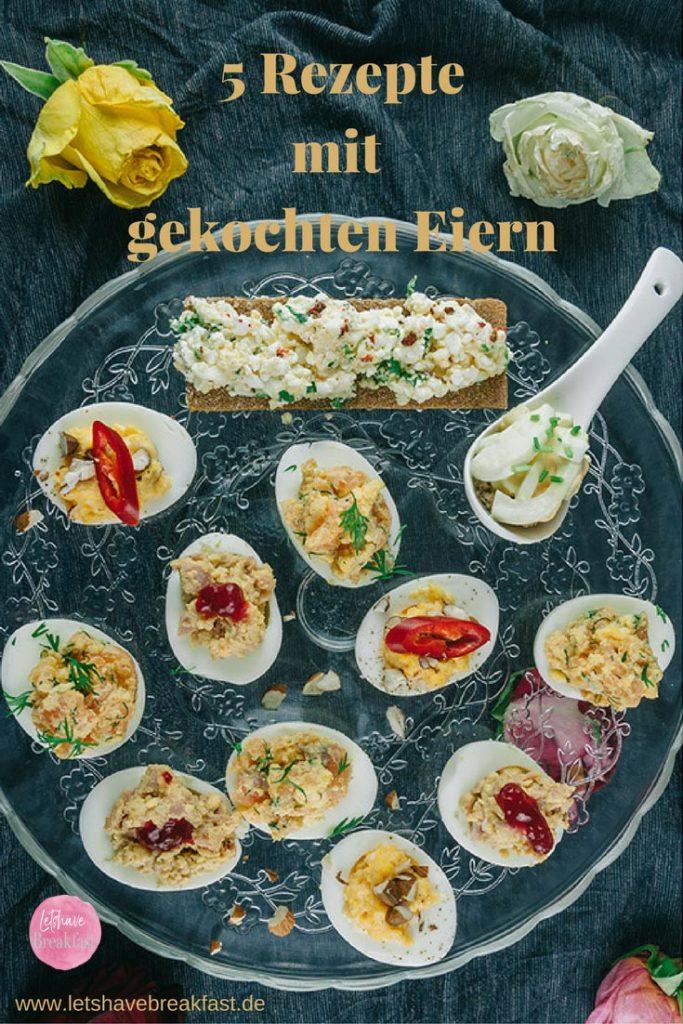 ei, Ei kochen, hart gekochte eier, weich gekochte eier, gefüllte Eier, gefüllte Eierhälften, frühstück, rezepte frühstück, frühstücksrezept, frühstücksidee