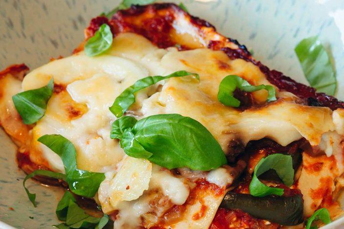 vegetarische lasagne, rezept vegetarische lasagne, lasagne rezept, vegetarischen gerichte, gemüselasagne