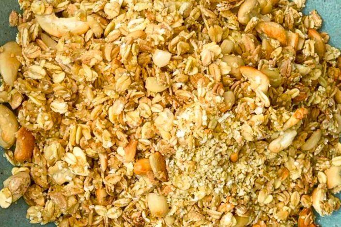 Granola selber machen, granola rezept, granola selbst machen, granola Müsli, granola selber machen gesund, frühstück