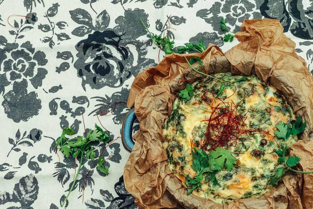 Kartoffel, Zucchini, Pimientos und Chili vereint mit Ei machen diese Frühstücksleckerei zu etwas besonderem