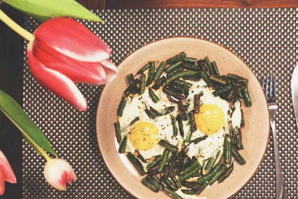 Vegetarisches Frühstücksrezept