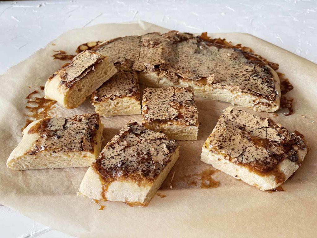 Italienisches Brot Focaccia selber backen
