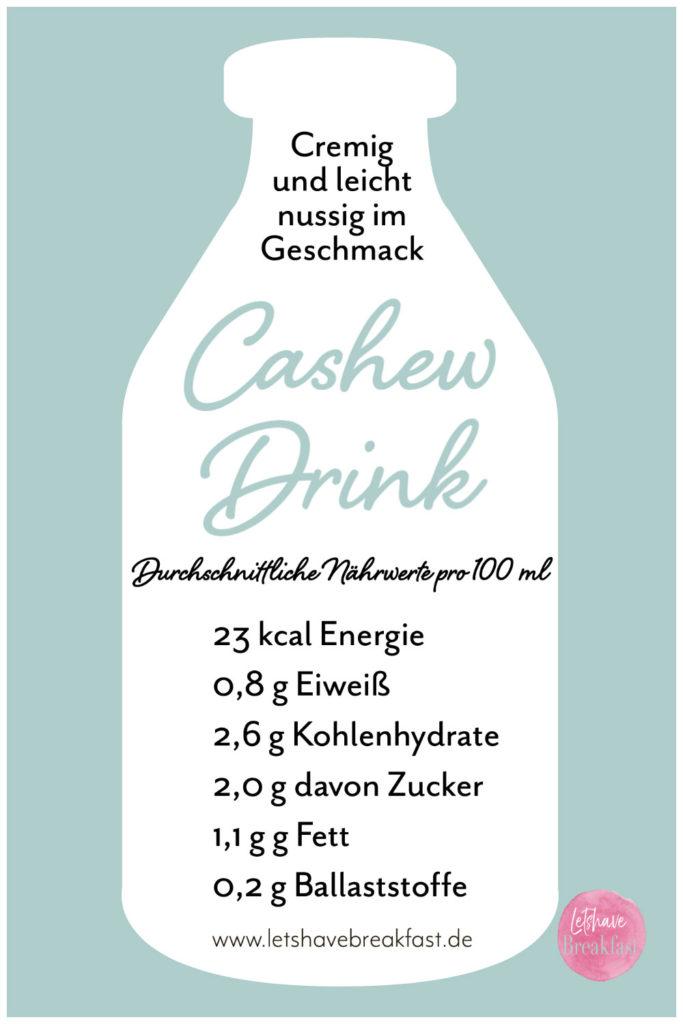 Cashew-Drink: Alternativen zu Milch