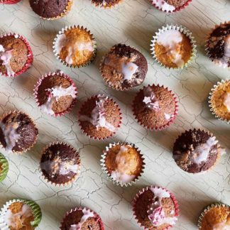 Muffins-Grundrezept und 50 verschiedene Zubereitungen
